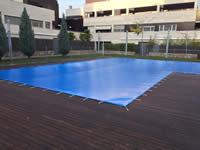 instalación y montaje de lonas para piscinas